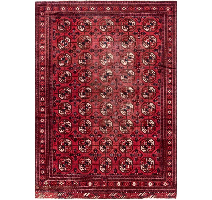 7' x 9' 10 Torkaman Persian Rug