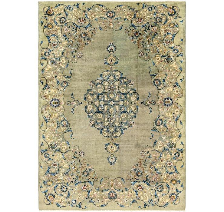 9' 2 x 13' Kashan Persian Rug