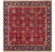 Link to 9' x 9' 5 Tabriz Persian Square Rug