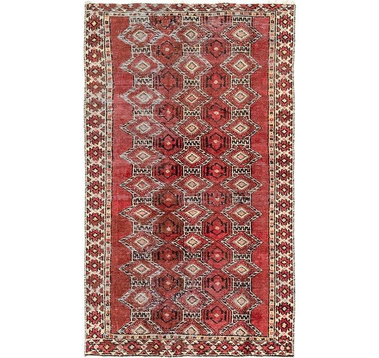 3' 7 x 6' 6 Ferdos Persian Rug