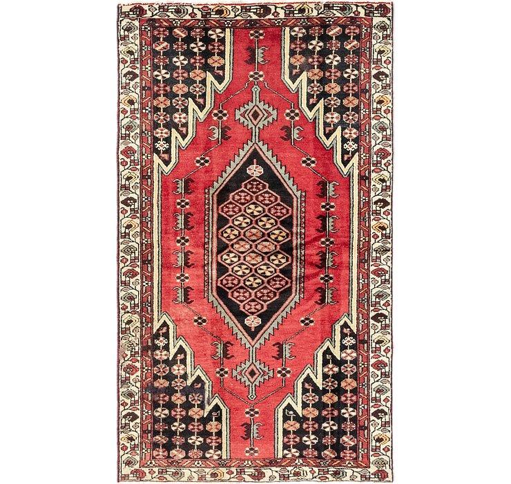 3' 10 x 6' 7 Mazlaghan Persian Rug
