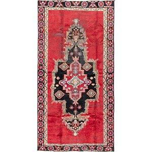 Link to 107cm x 213cm Ferdos Persian Runner Rug item page