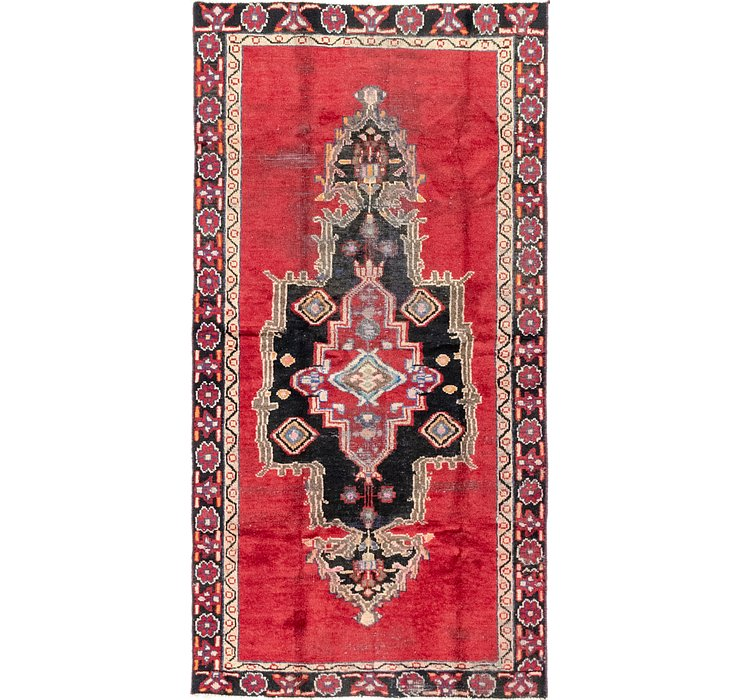 3' 6 x 7' Ferdos Persian Runner Rug