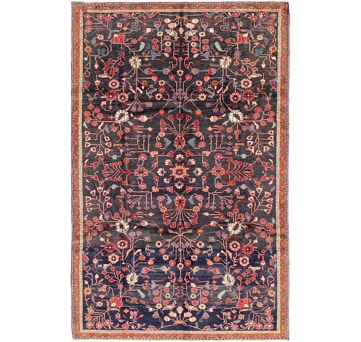 6' 3 x 9' 7 Hamedan Persian Rug