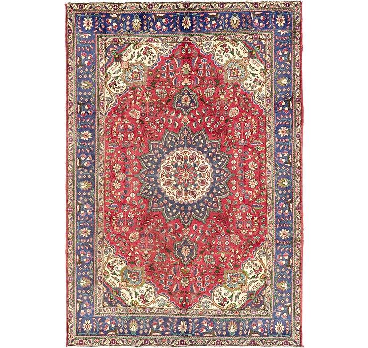 6' 10 x 9' 10 Tabriz Persian Rug