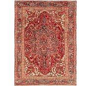 Link to 7' 10 x 11' Heriz Persian Rug