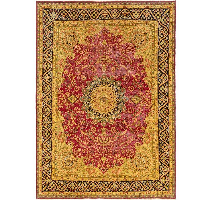 9' 7 x 13' 9 Kerman Persian Rug