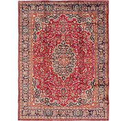 Link to 285cm x 375cm Mashad Persian Rug