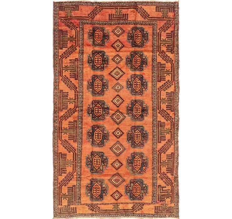 5' 2 x 9' Shiraz-Lori Persian Rug
