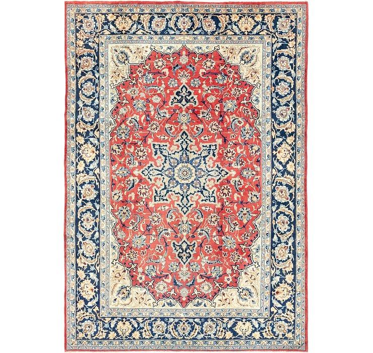 8' 8 x 12' 6 Isfahan Persian Rug