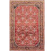 Link to 218cm x 315cm Hossainabad Persian Rug