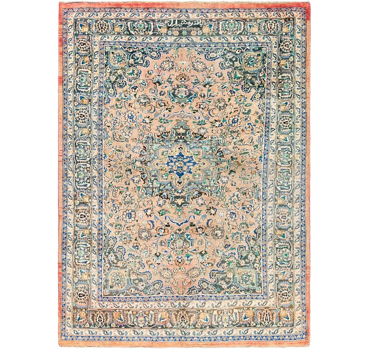 7' x 9' 2 Mashad Persian Rug