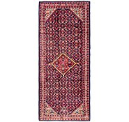 Link to 137cm x 330cm Hossainabad Persian Runner Rug