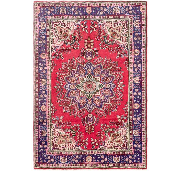193cm x 290cm Tabriz Persian Rug