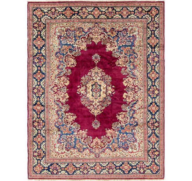 318cm x 447cm Meshkabad Persian Rug