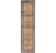 Link to 110cm x 432cm Hossainabad Persian Runner Rug