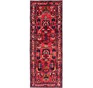 Link to 117cm x 300cm Hamedan Persian Runner Rug