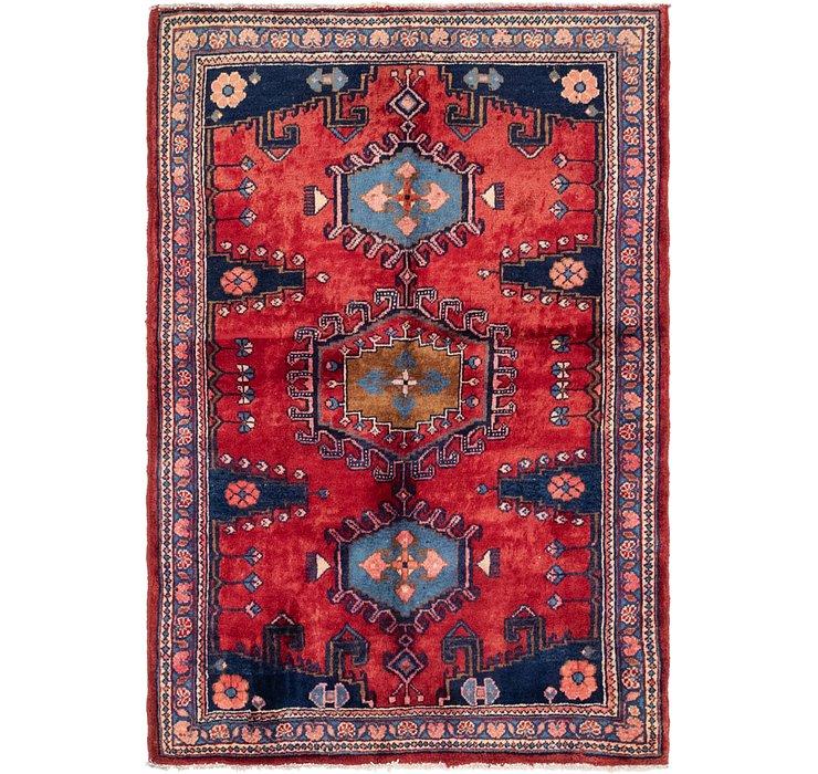 3' 6 x 5' 2 Viss Persian Rug