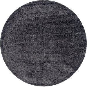 Link to 245cm x 245cm Solid Frieze Round Rug item page