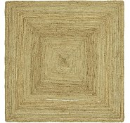 Link to 245cm x 245cm Braided Jute Square Rug