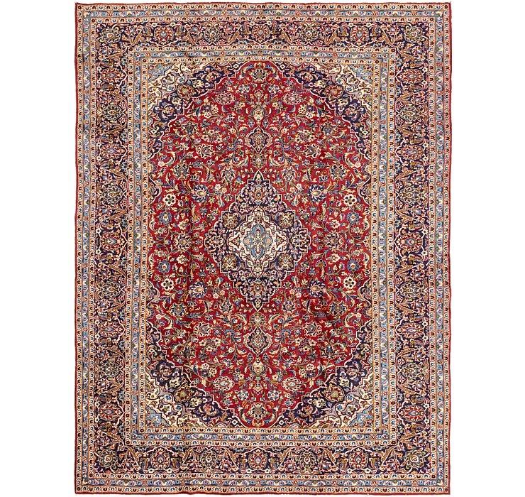 9' 8 x 12' 7 Kashan Persian Rug
