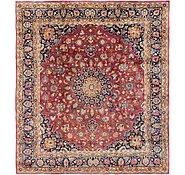Link to 305cm x 335cm Mashad Persian Square Rug
