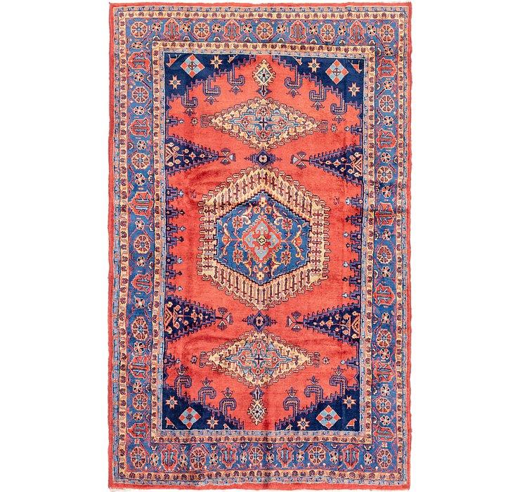 7' x 11' 4 Viss Persian Rug