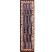Link to 110cm x 432cm Farahan Persian Runner Rug