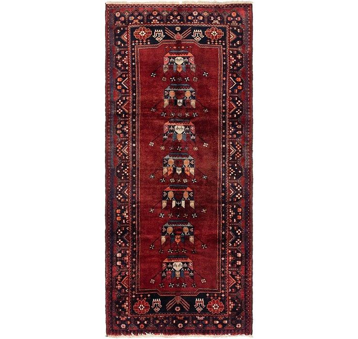 4' x 9' 4 Ferdos Persian Runner Rug