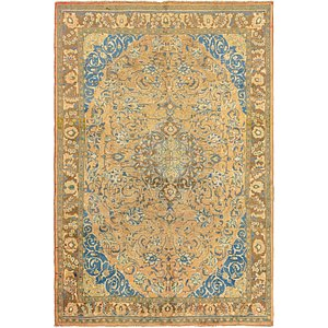 Link to 208cm x 312cm Mashad Persian Rug item page