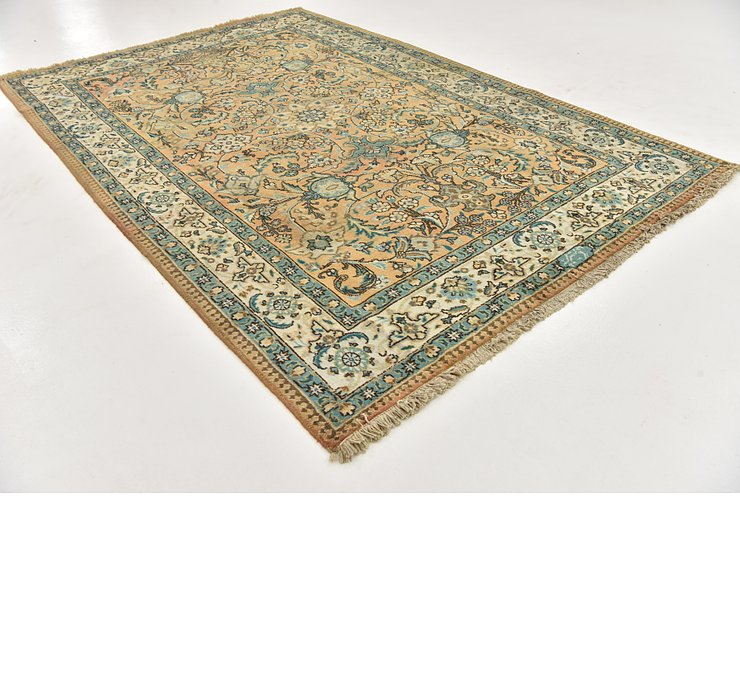 HandKnotted 6' 10 x 10' 6 Tabriz Persian Rug