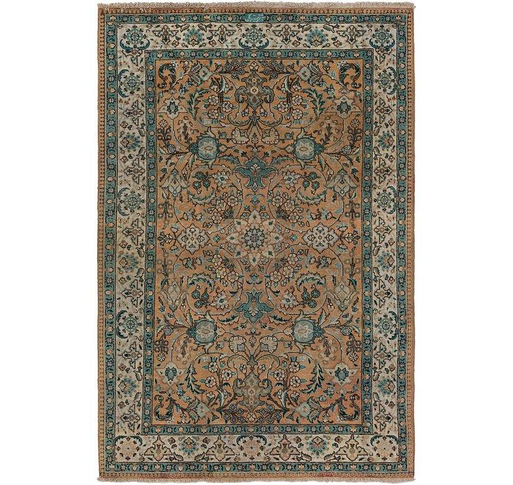 6' 10 x 10' 6 Tabriz Persian Rug