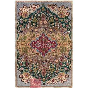 5' 2 x 8' 3 Tabriz Persian Rug