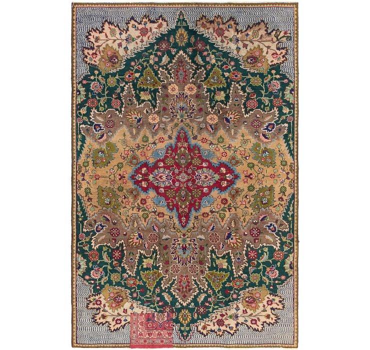 157cm x 250cm Tabriz Persian Rug