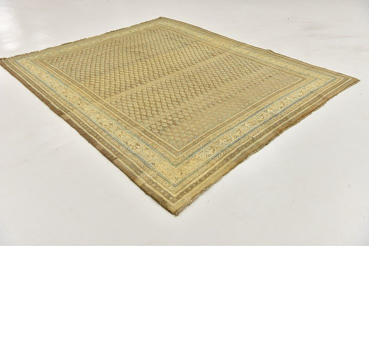 HandKnotted 7' x 8' 5 Botemir Persian Square ...