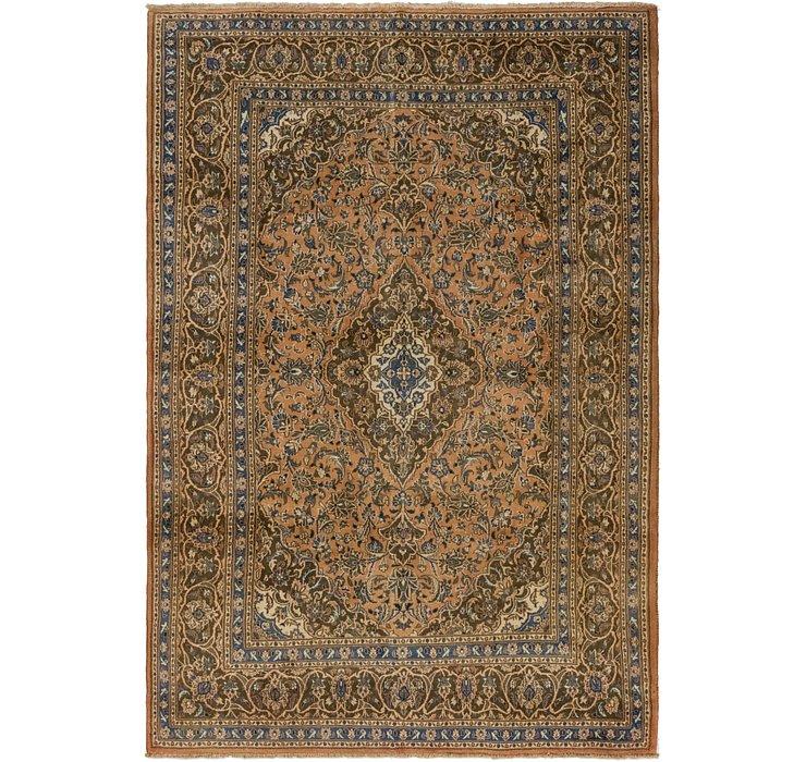 6' 7 x 9' 8 Mashad Persian Rug
