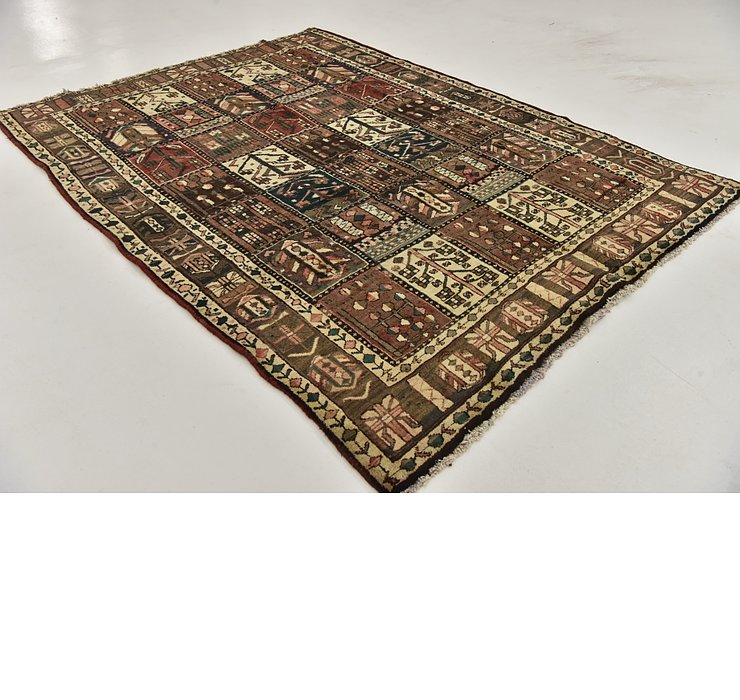 HandKnotted 6' 9 x 9' Bakhtiar Persian Rug