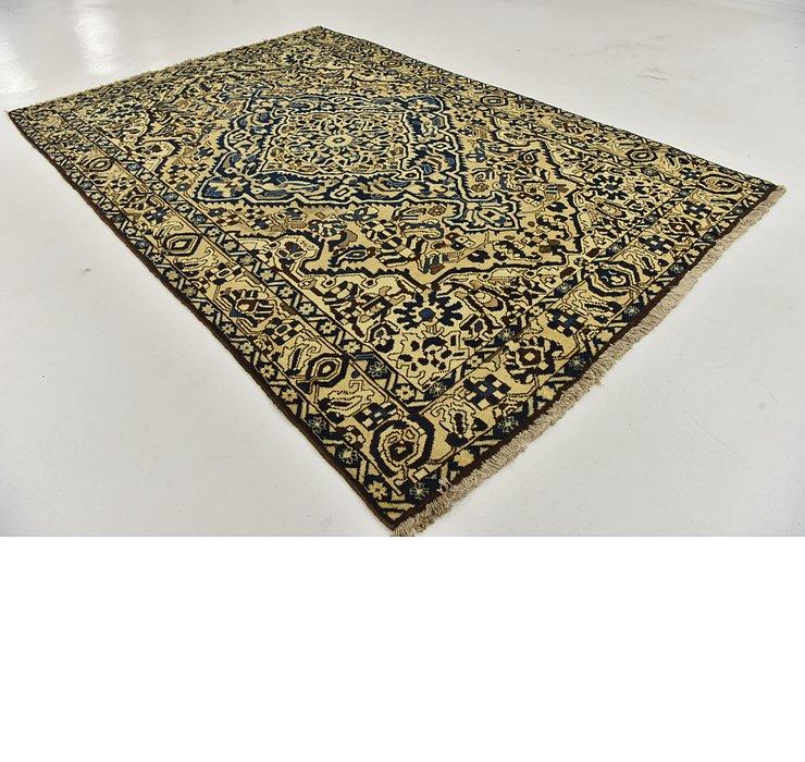 HandKnotted 6' 8 x 10' Bakhtiar Persian Rug