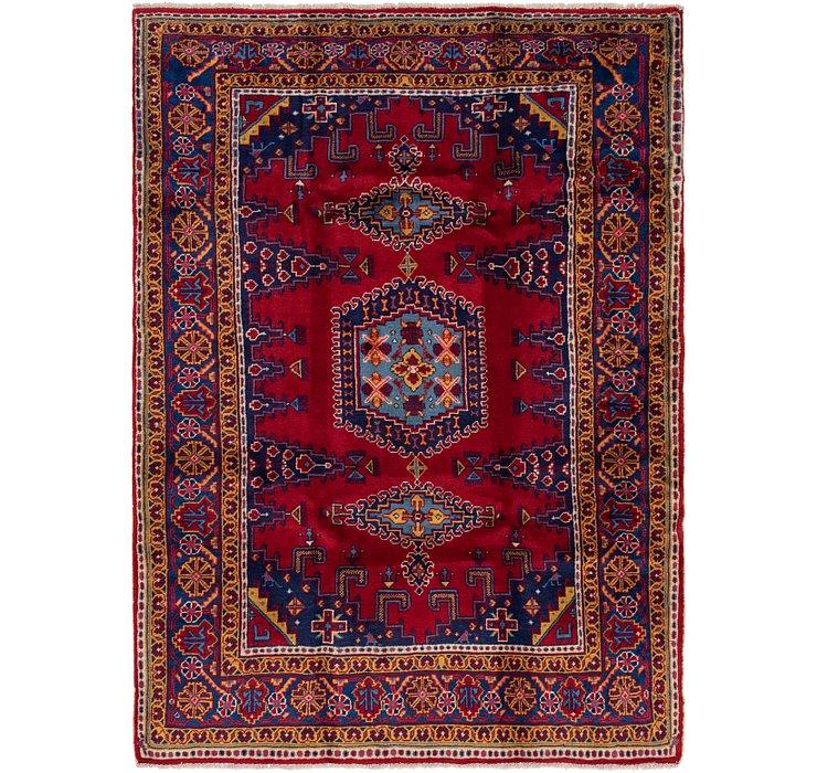5' 9 x 8' 2 Viss Persian Rug