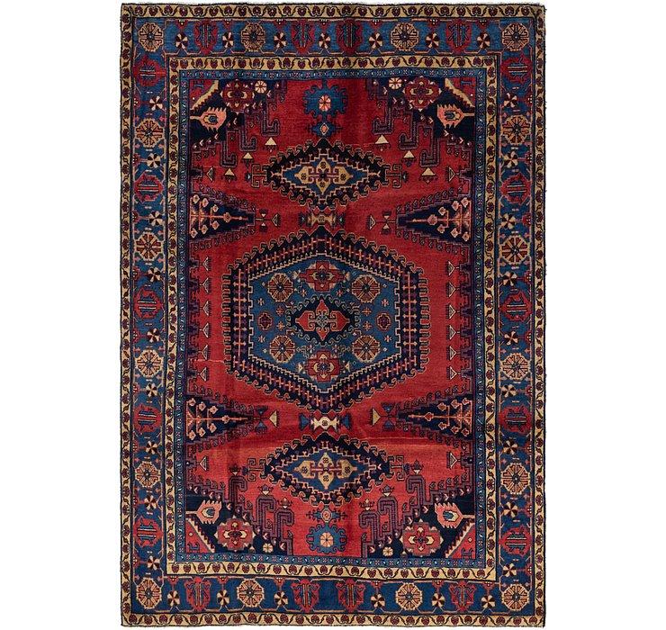 7' x 10' 2 Viss Persian Rug