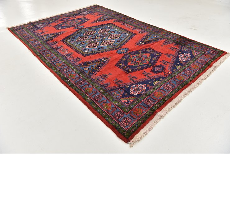 HandKnotted 6' 8 x 10' 2 Viss Persian Rug