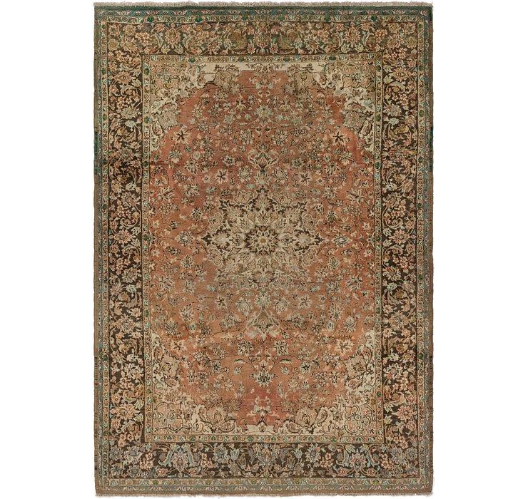 6' 10 x 9' 9 Isfahan Persian Rug