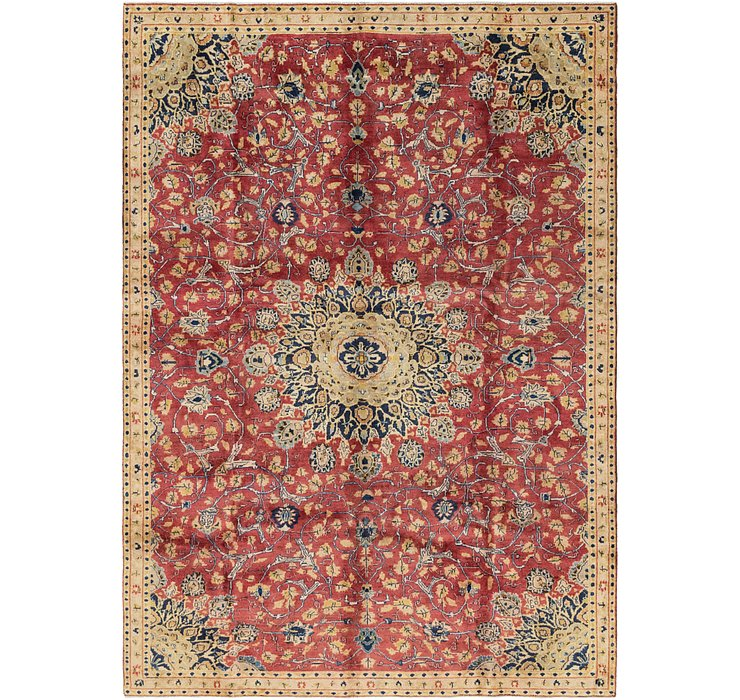 213cm x 315cm Mashad Persian Rug