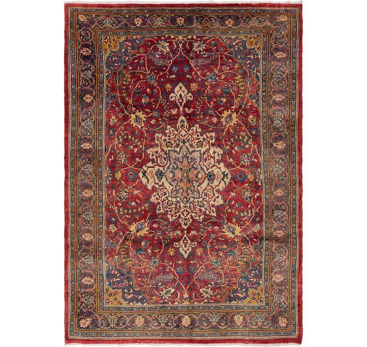 7' 3 x 10' 4 Sarough Persian Rug