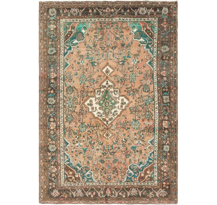 6' 5 x 9' 9 Hamedan Persian Rug