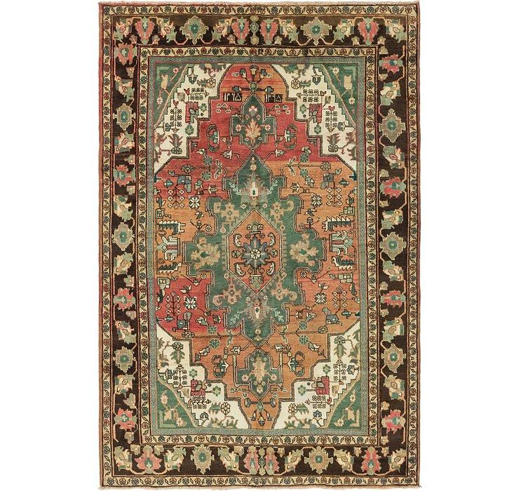6' 6 x 9' 9 Ardabil Persian Rug
