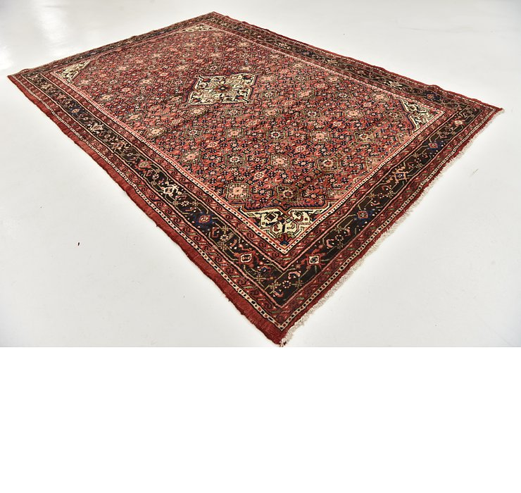 HandKnotted 6' 7 x 9' 9 Hossainabad Persian Rug