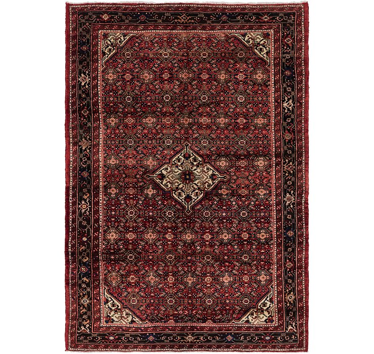 6' 7 x 9' 9 Hossainabad Persian Rug