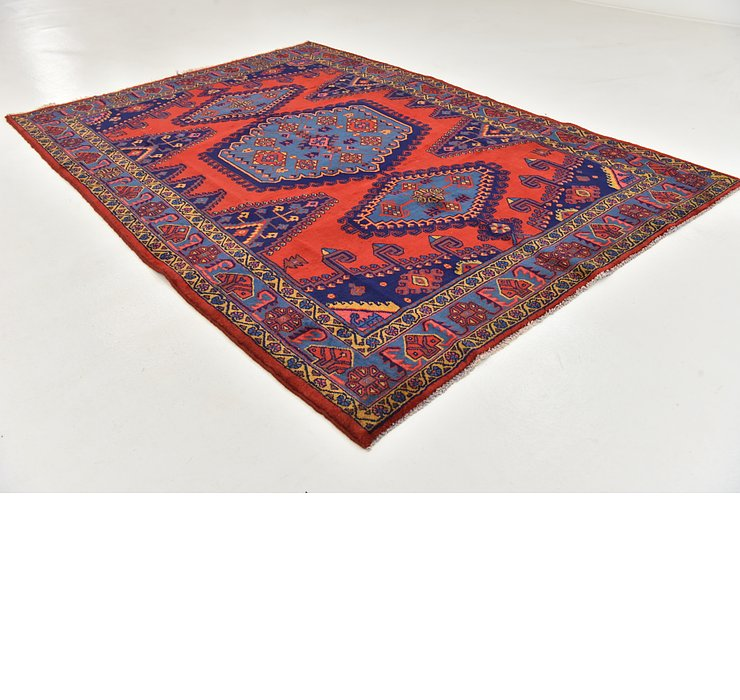 HandKnotted 6' 10 x 10' Viss Persian Rug