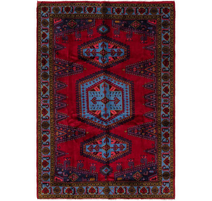 7' 4 x 10' 4 Viss Persian Rug